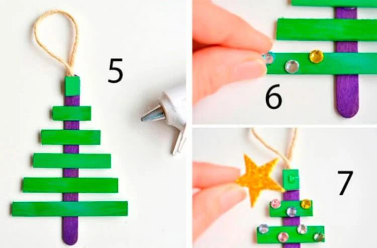 Joulukuusi lelut joulukuusi omalla kädellään: mitä voidaan tehdä uudelle vuodelle Elochnaya Igrushka Svoimi Rukami 31