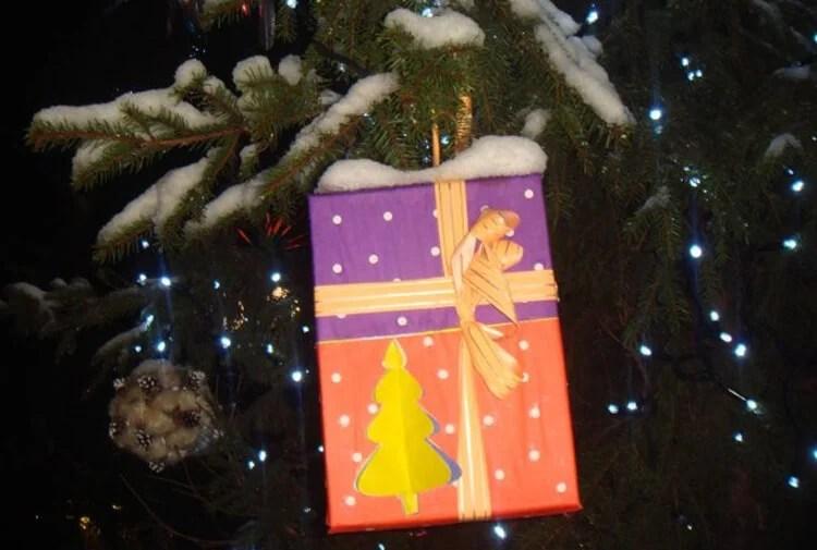 Joulukuusi lelut joulukuusi omalla kädellään: mitä voidaan tehdä uudenvuoden Elochnaya Igrushka Svoimi Rukami 57