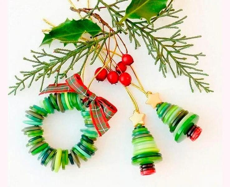 Joulukuusi lelut joulukuusi omalla kädellään: mitä voidaan tehdä uudenvuoden Elochnaya Igrushka Svoimi Rukami 69