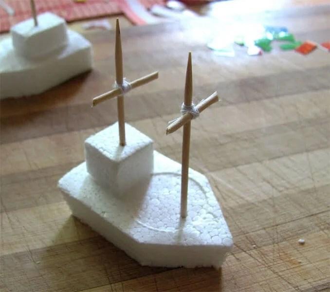 Кораблик для детей: различные способы создания со схемами и описанием korabl svoimi rukami 110
