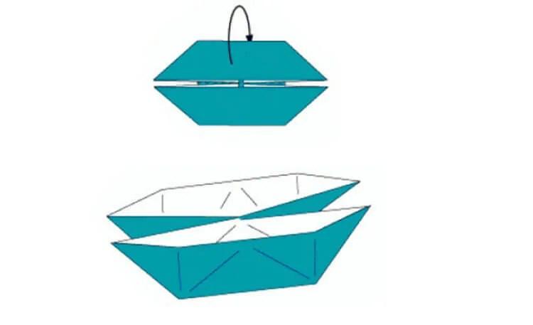 Кораблик для детей: различные способы создания со схемами и описанием korabl svoimi rukami 24