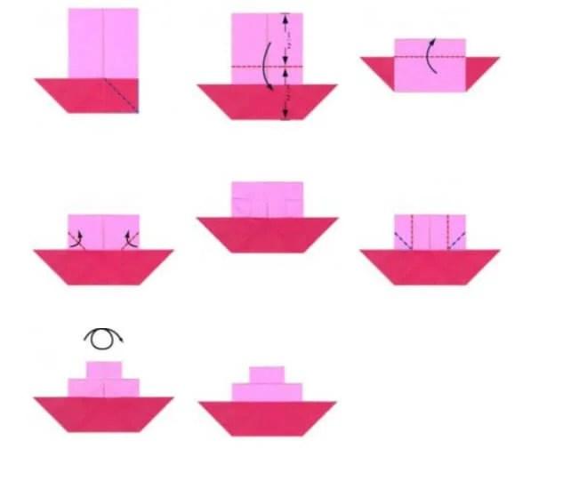 船舶为儿童:使用方案创建的各种方式和描述Korabl Svoimi Rukami 30
