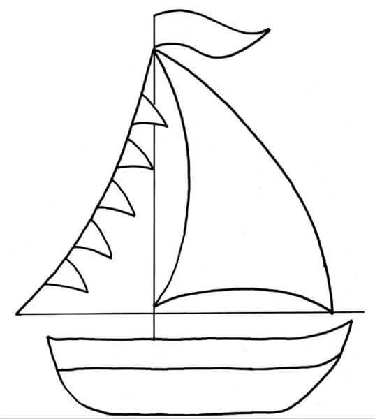 儿童船:使用方案创建的各种方式,并描述Korabl Svoimi Rukami 58