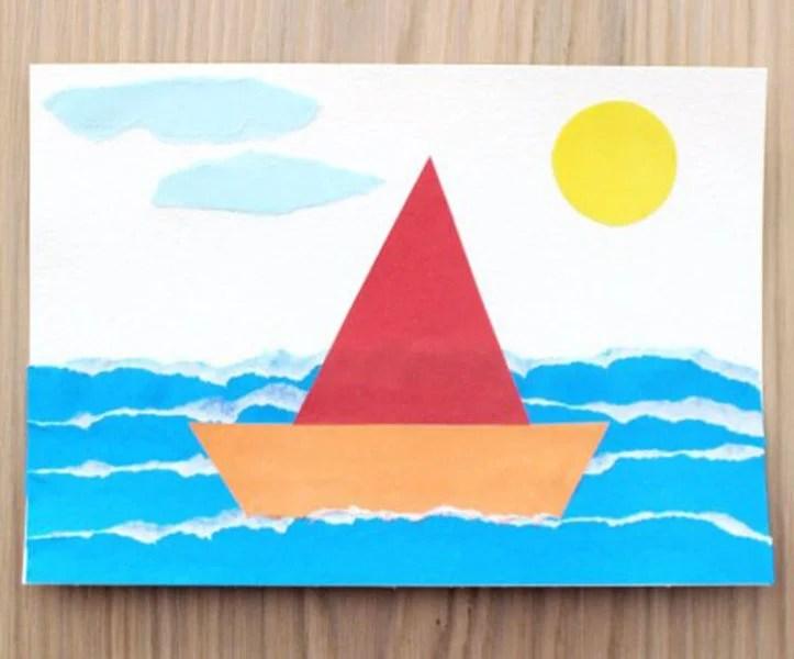 船舶为儿童:使用方案创建的各种方式和描述Korabl Svoimi Rukami 63