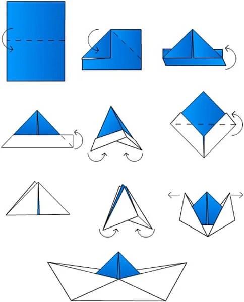 儿童船:使用方案创建的各种方式和描述Korabl Svoimi Rukami 7