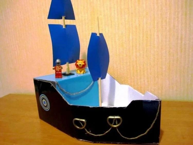 Кораблик для детей: различные способы создания со схемами и описанием korabl svoimi rukami 71
