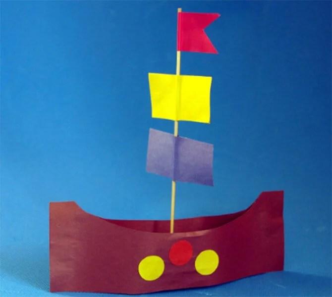 Кораблик для детей: различные способы создания со схемами и описанием korabl svoimi rukami 75