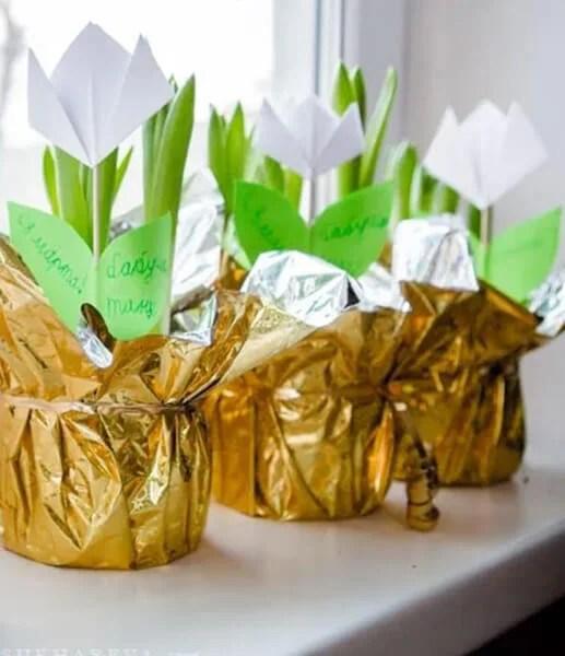 Поделки на 8 марта для любимых мам: подарок с душой своими руками podelku na 8 marta svoimi rukami 134