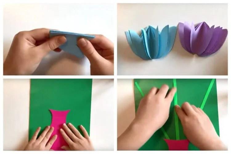 Поделки на 8 марта для любимых мам: подарок с душой своими руками podelku na 8 marta svoimi rukami 22