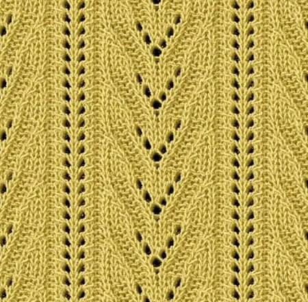 Как вязать ажурные узоры: варианты вязания со схемами и описанием azhurnye uzory spicami 20