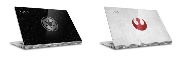 Lenovo Star Wars Special Edition Yoga 920 Galactic Empire  and Rebel Alliance