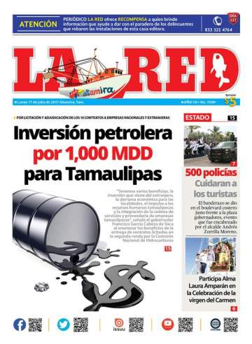Inversión petrolera por 1000 mdp para Tamaulipas