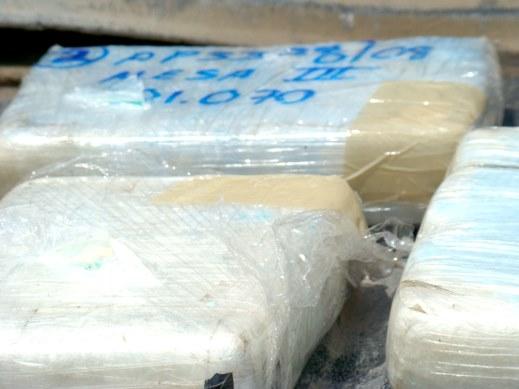 Aseguraron metanfetaminasen Cruce Internacional