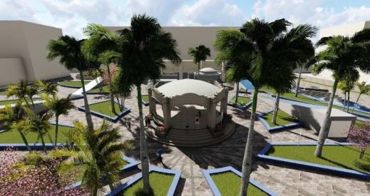 Inicia proyecto de plaza Isauro Alfaro hasta el próximo año