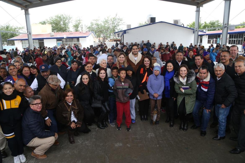 Ofrecen a Maki Ortiz una cálida bienvenida en Lomas de Valle Alto