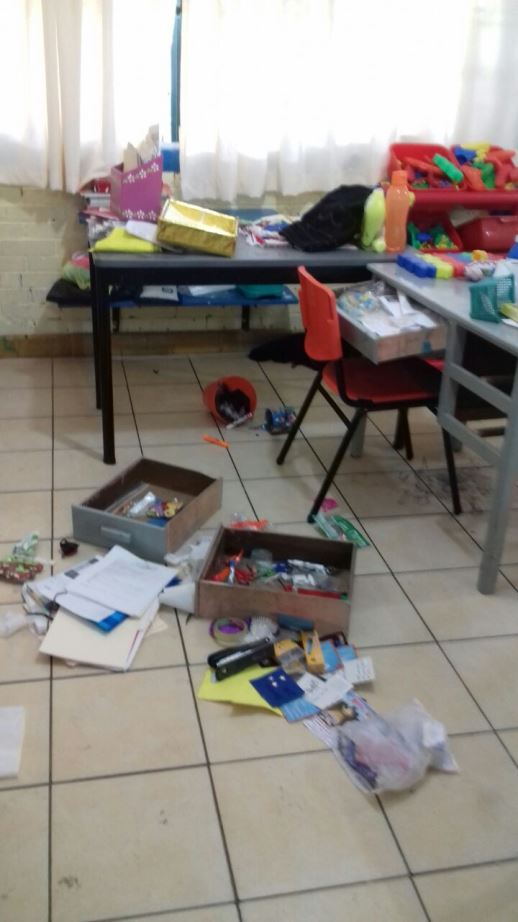 Roban kínder en Tampico; cámaras los detectan