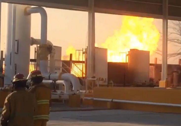 Explosión en Pemex Altamira
