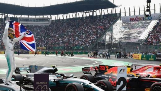 Calendario F1 confirmado; GP de México, 28 octubre