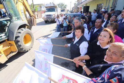 Jornada integral de limpieza en la colonia Morelos