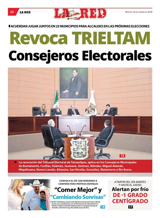 Revoca TRIELTAM Consejeros Electorales