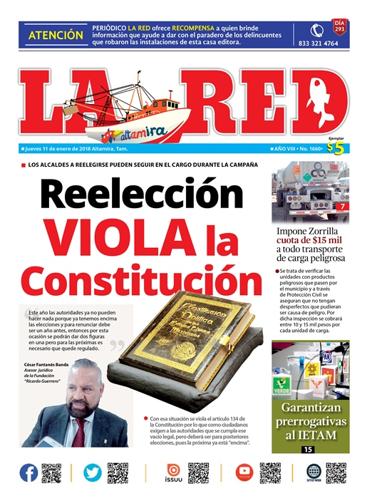 Reelección viola Constitución