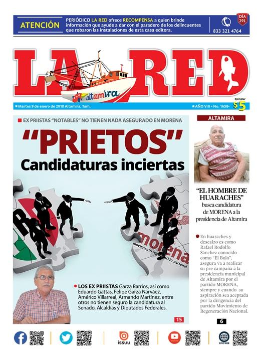 """""""PRIETOS"""" Candidaturas inciertas"""