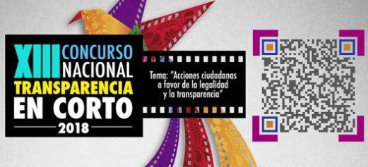 Concurso Nacional XIII de Transparencia en Corto 2018