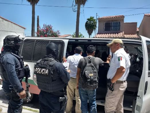 Rescatan 36 centroamericanos en cautiverio