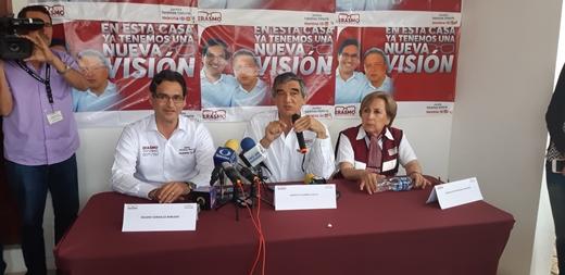 No habrá amnistía para delincuentes: Erasmo González Robledo