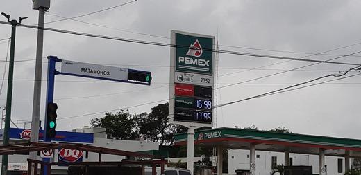 Suben precio de la gasolina