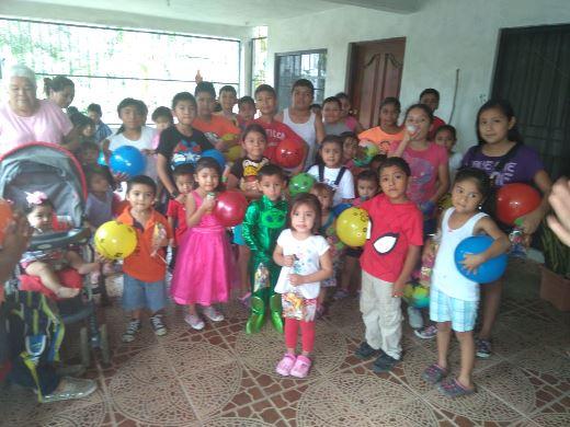 Mujeres altruistas cumplen compromiso con niños y niñas del municipio de Altamira