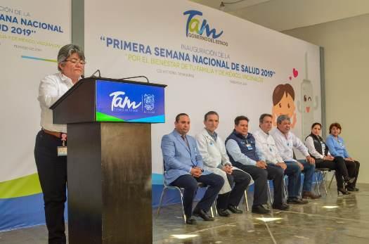 Activa Tamaulipas Primera Semana Nacional de Salud 2019