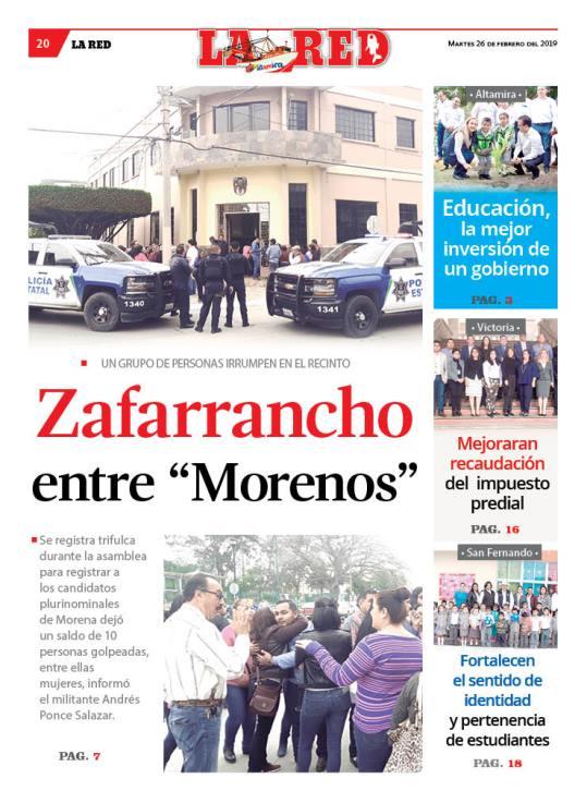 """Zafarrancho entre """"Morenos"""""""