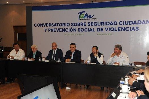 Impulsa Gobierno de Tamaulipas la contención y prevención del delito