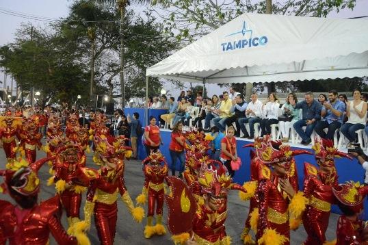 Espectacular desfile del Carnaval Tampico 2019