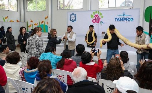 Promueve DIF Tampico cultura de inclusión en el mes de la Educación Especial