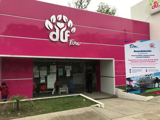Remodelan y actualizan el edificio de DIF Tamaulipas