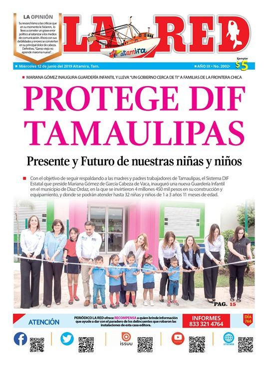 Protege DIF Tamaulipas Presente y Futuro de nuestras niñas y niños