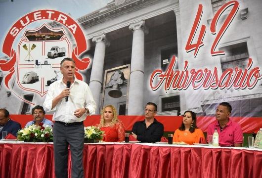 Reconoce Chucho Nader participación de sindicalizados municipales