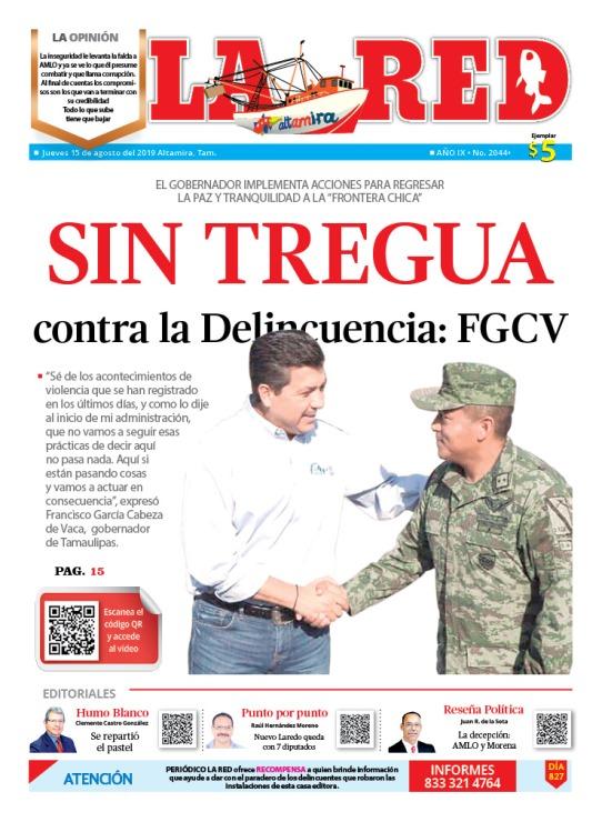 SIN TREGUA contra la Delincuencia: FGCV