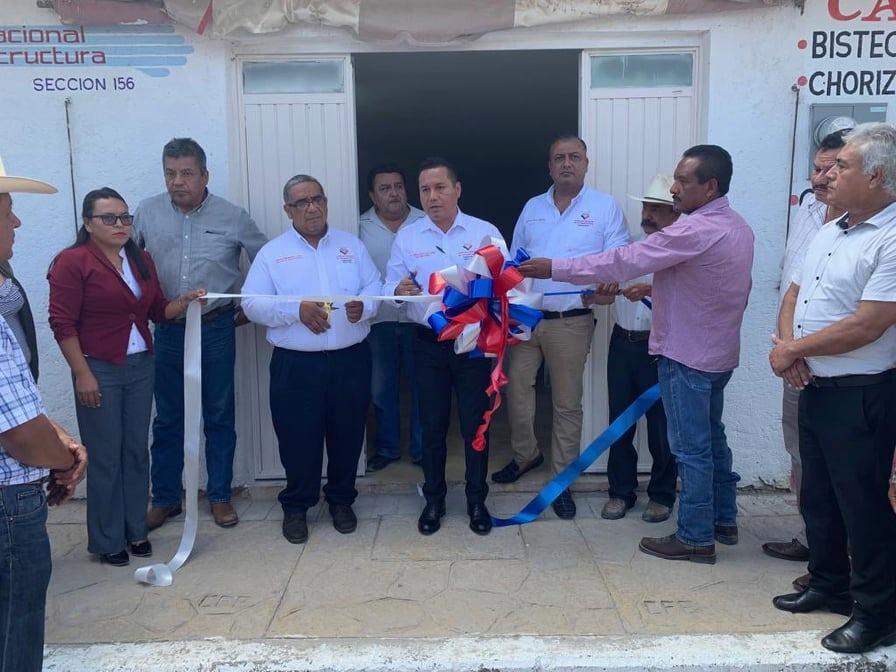 Inaugura oficinas en Tula el Sindicato Nacional de Infraestructura