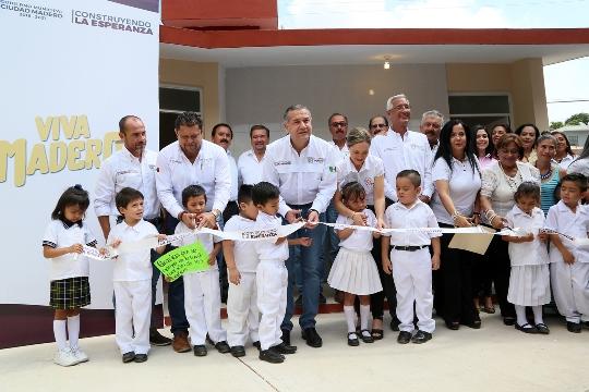 Rescata municipio espacios educativos para la niñez