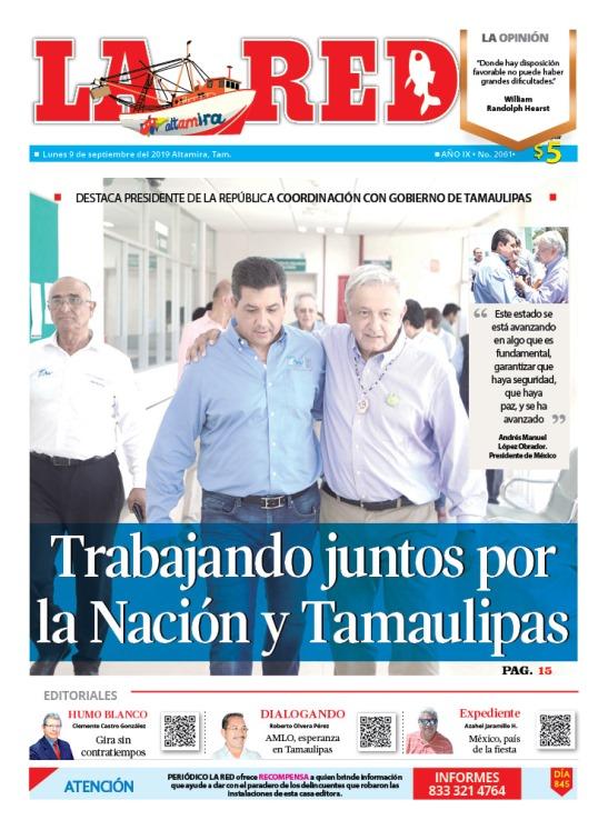 Trabajando juntos por la Nación y Tamaulipas
