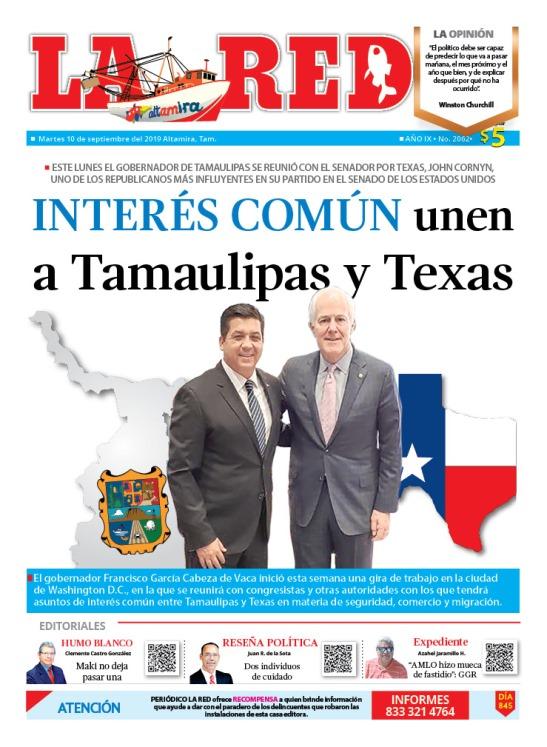 Interés común unen a Tamaulipas y Texas