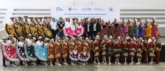 Realiza DIF Madero tercer concurso de danza folklórica