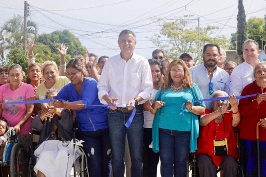 Registra Tampico histórica inversión en pavimentación