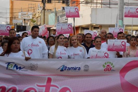 Se suma municipio a lucha contra cáncer de mama