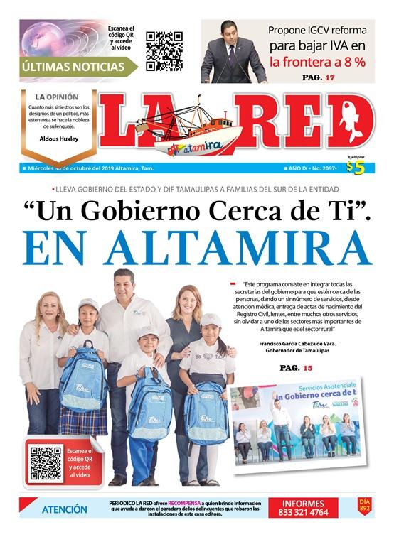 """""""Un Gobierno Cerca de Ti"""" EN ALTAMIRA"""