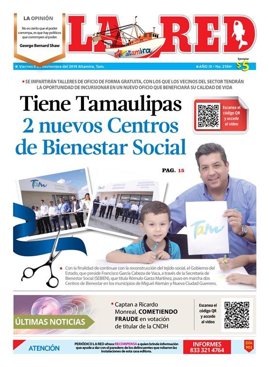 Tiene Tamaulipas 2 nuevos Centros de Bienestar Social