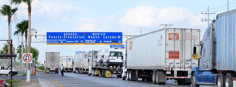 Autoriza EU un carril especial para el cruce de camiones cargueros mexicanos